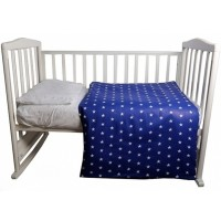 Комплект постельного белья Bambola Звездочки бязь 3 пр