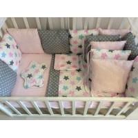 Комплект постельного белья в кроватку Горошек