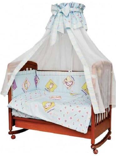 Комплект в кроватку Мама Шила Лимпопо 1038 (7 предметов)