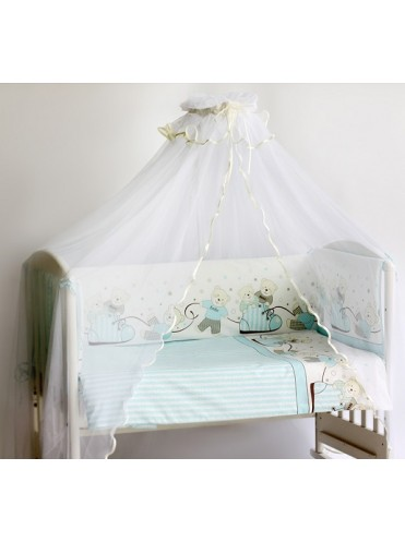Комплект в кроватку Pituso Мишки 6 предметов
