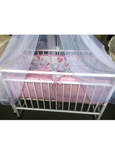 Комплект в детскую кроватку Нежность 6 предметов