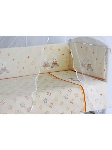 Комплект в кроватку Pituso Зайки 6 предметов