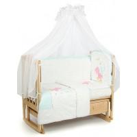 Комплект в кроватку Lider Kids Маленькая лошадка 7 предметов