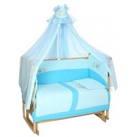 Комплект в кроватку Lider Kids Поезд для Друзей 7 предметов