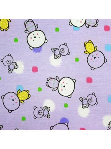 Комплект в кроватку Мой медвежонок 727 (7 предметов)