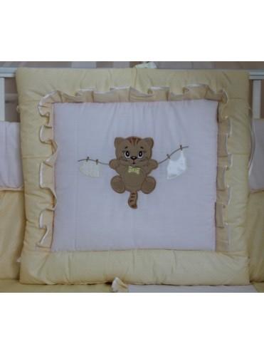 Комплект в детскую кроватку Мультяшки 8 предметов