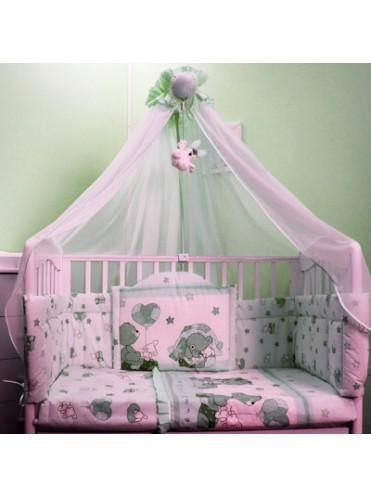 Комплект в детскую кроватку Загадка 7 предметов