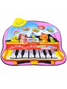 Коврик развивающий музыкальный Веселый зоопарк 295-7