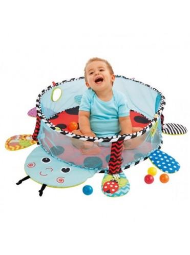 Развивающий коврик-манеж 3 в 1 с шариками