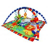 Развивающий коврик LA-DI-DA Веселый Зоопарк 76Х76Х41 см