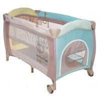 Манеж-кровать Pituso Florecita 2 уровня