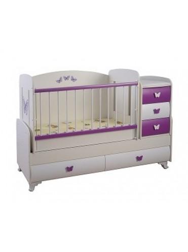 Детская кровать трансформер Glamvers Barocco