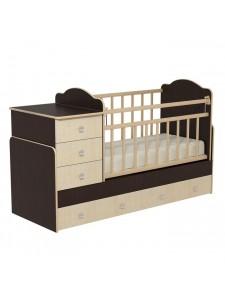Детская кровать трансформер Колибри-1