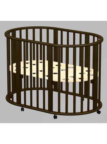 Детская круглая кроватка Ведрусс Оливия