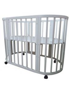 Овальная кроватка Соня 02 8 в 1 75х125