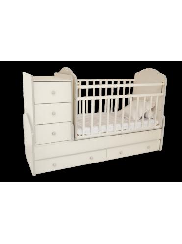 Детская кровать трансформер Папа Карло-1