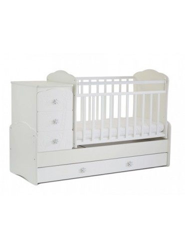 Детская кровать-трансформер СКВ-9 Жираф