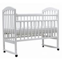 Детская деревянная кроватка Лира-2 (колесо+качалка) 023