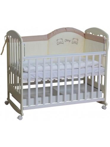 Детская деревянная кроватка Фея 325