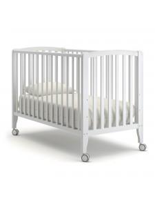 Детская деревянная кроватка БЬЯНКА колесо К-2005-3б