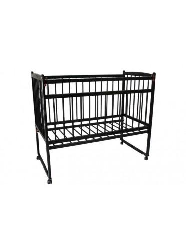 Детская деревянная кроватка Женечка 15 (колесо-качалка)