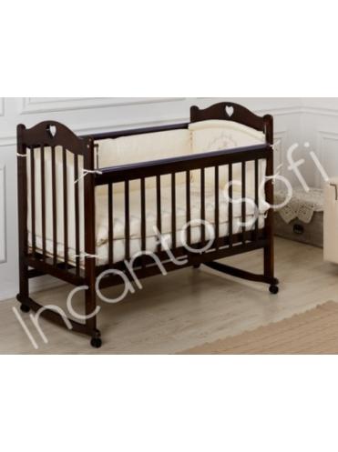 Детская кроватка Incanto Sofi сердечки