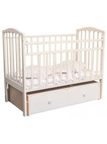 Детская деревянная кроватка Агат Золушка-7 Бежевая
