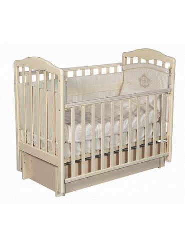 Кроватка детская Алита 4/6 универсальный маятник+ящик