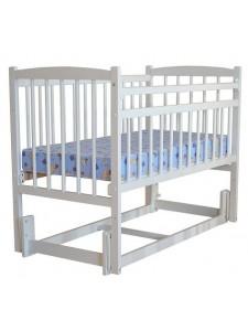Детская кроватка Бэби 3 (маятник продольный, опуск.планка) разборная