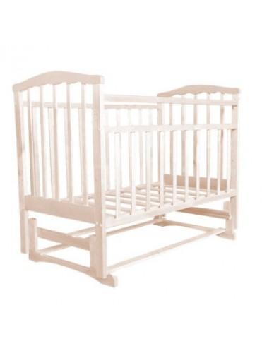 Кроватка Золушка 5 (белый, слоновая кость)