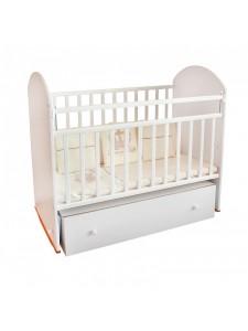 Детская деревянная кроватка Белуччи маятник и ящик