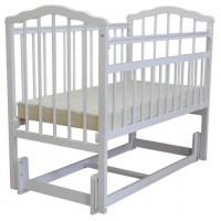 Детская деревянная кроватка Гном 3 продольный маятник
