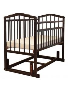 Детская деревянная кроватка Гном-4 поперечный маятник