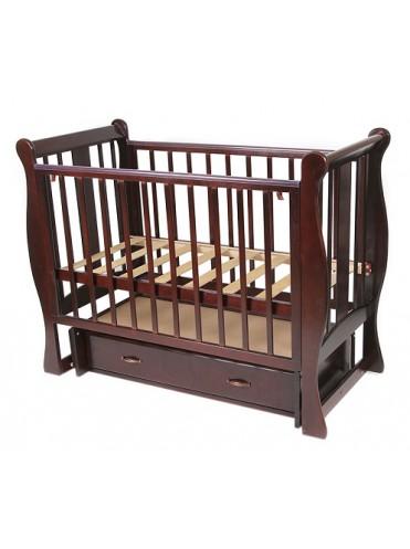 Кроватка детская Счатливый малыш Венеция универсальный маятник