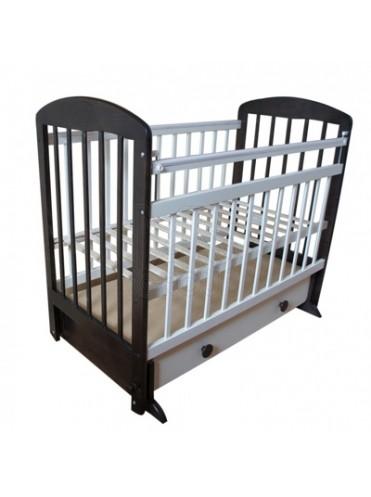 Детская кроватка Мой Малыш 8 (поперечный маятник+ящик)
