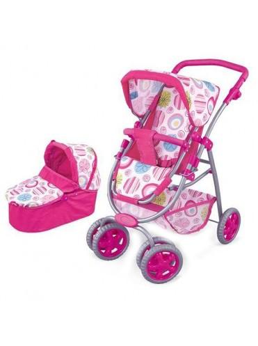 Кукольная коляска 2 в 1 Fei li toys FL8192