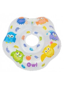 Круг на шею для купания малышей Owl RN-002