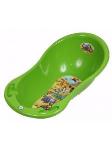 Детская ванна овальная Тега Safari 102 см с градусником
