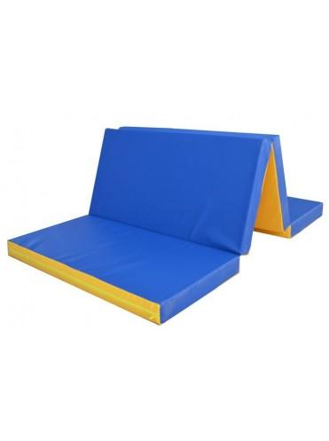 Мат гимнастический 2000х1000х80мм складной 2 секции