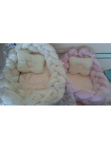 Гнездо-трансформер с подушкой для новорожденных Звездочет