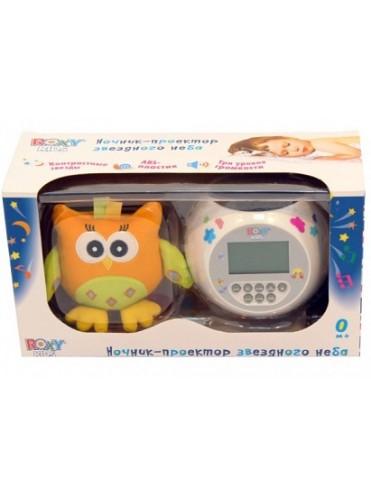 Игрушка-проектор звездного неба OLLY с совой ROXY-KIDS