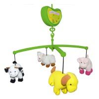 Детская музыкальная карусель Biba Toys Счастливая ферма BM354J