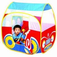 Игровая палатка Автомобиль 654 с шариками 100 шт