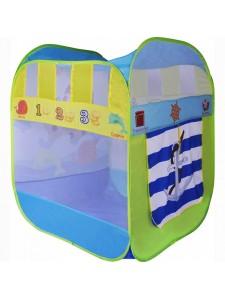 Детская палатка Дом + 100 шаров CHING-CHING Приключения зверей