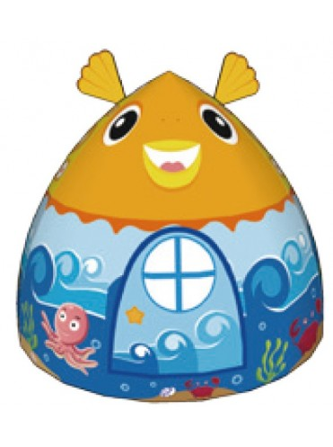 Детская палатка Дом + 100 шаров Calida Рыбка