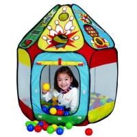 Детская палатка Дом + 150 шаров CALIDA Домик Спорт