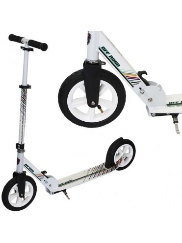 Самокат 2-х колесный SLIDER надувные колеса 200мм