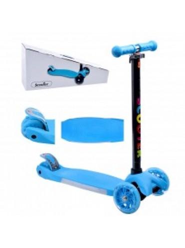Самокат 3-х колесный scooter