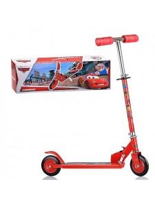 Детский 2-х колесный самокат Disney Тачки Т58406
