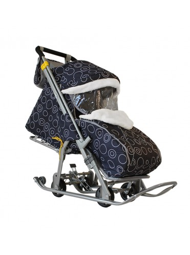 Санки-коляска Галактика детям-2